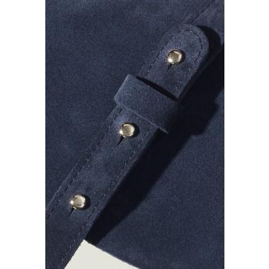 "LELLOR Halfmoon Bag ""Navy Blue"""