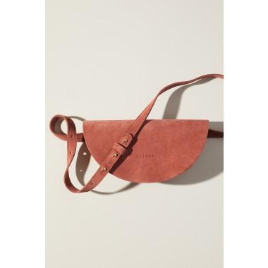 """LELLOR Halfmoon Bag """"Rust"""""""