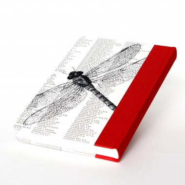 fundgut99 Notizbuch Libelle