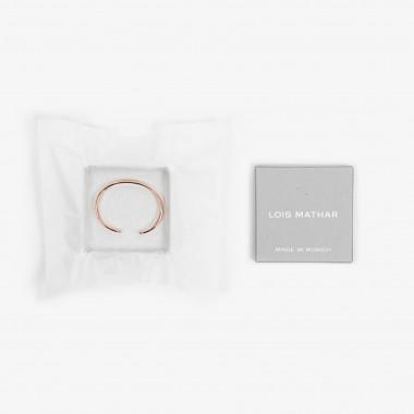 Lois Mathar – Armband massiv Kupfer, breit, 6 mm