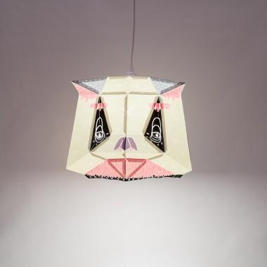 Chapa Large X BOICUT – Ein Lampenschirm, ein Poster oder etwas Anderes... Du machst es selbst !