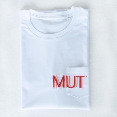 t-shirt MUT pocket ● ♥ ▲ PULS good stuff
