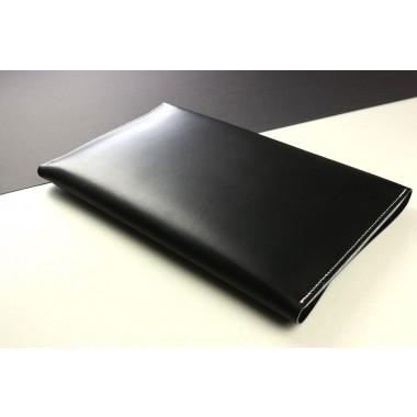 """Alexej Nagel Elegante MacBook 13"""" Hülle aus Premiumleder - schwarz [BL]"""