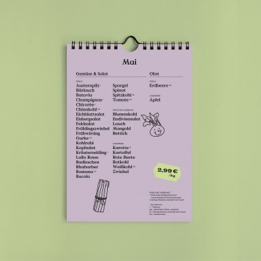 Apfel & Zwiebel Saisonkalender