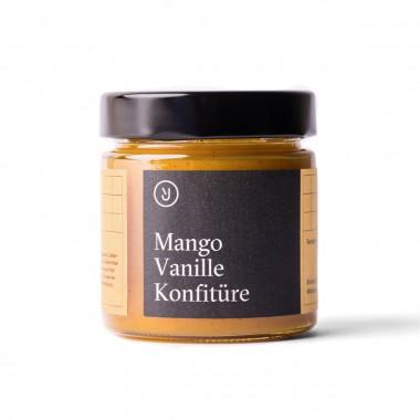 Essen für uns - Mango Vanille Konfitüre (180g)