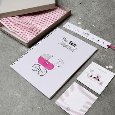 kleiner mensch Mein Baby Journal (Mädchen)