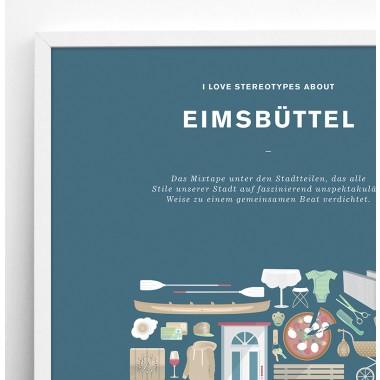 Stadtteil Plakat Eimsbüttel