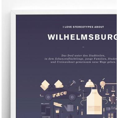 Stadtteil Plakat Wilhelmsburg