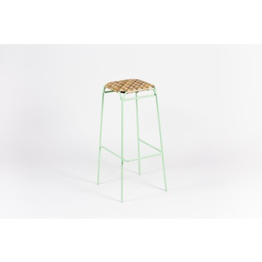 MOYA Hocker aus Birkenrinde Taburet | Bar Stool