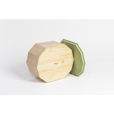 MOYA Nachhaltige Brotbox aus Birkenrinde TUESA | Breadbox #2