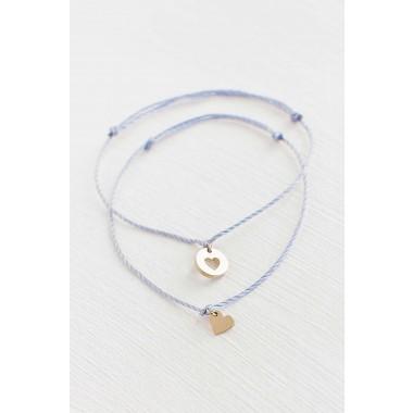 Oh Bracelet Berlin - 2er-Set: Armband »Mutter & Tochter für immer« Farbe Gold