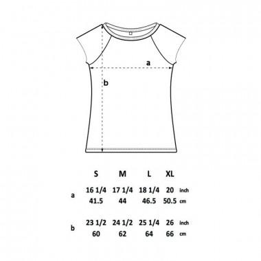 ruestungsschmie.de – Infografic - Ladies Organic Bamboo T-Shirt