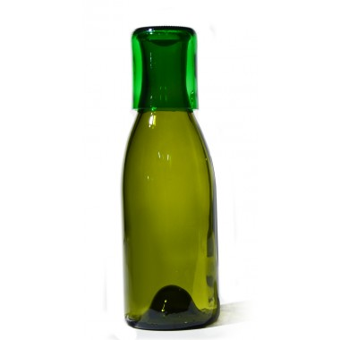 SAMESAME No 09 große Karaffe aus Magnum-Weinflasche mit Stülpbecher