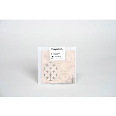 Birken Osterschmuck - Osteranhänger Deko 4er Set aus Birkenrinde