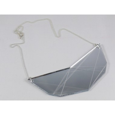 In.Line necklace silver