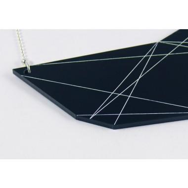 In.Line necklace schwarz
