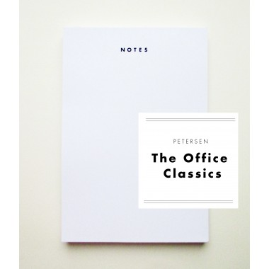 "PETERSEN ""The Office Classics"", Schreibblock ""Notes"""