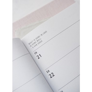 COSMIC SYMBOLS - PETITE PLANNER 2020 - A6 Kalender - Anna Cosma