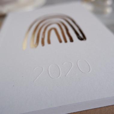 GOLDEN RAINBOW - PETITE PLANNER 2020 - A6 Kalender - Anna Cosma