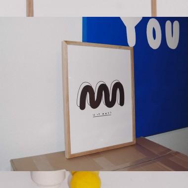 IS IT ART Print 30x40cm – Johanna Schwarzer