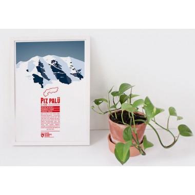Piz Palü - Bergdruck