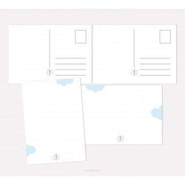 designfeder | Baby Countdown + Papa + Oma + Opa