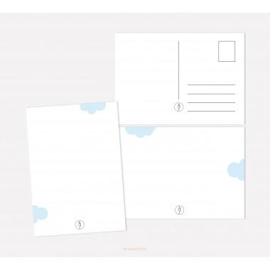 designfeder   Postkarten Baby Countdown + Papa +Oma