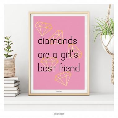 designfeder | Poster Diamonds