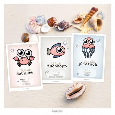 designfeder | Postkarten Plattdeutsch