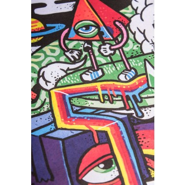 Poster »Colorful Life« 50x70cm
