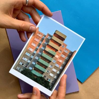 'Berlin Wedding' Postkarte, DIN A6, klimaneutral gedruckt / Ankerwechsel Verlag