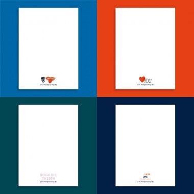 Family Tree Shop / Postkarten-Set / 2021 NEU