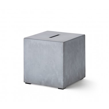 "Korn Produkte Spardose ""Big Block"" aus Beton"