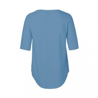"Rapü Design Ladies Shirt indigoblau ""Pommunity"" | Fair Trade"