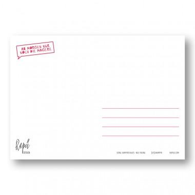 """Rapü Design Postkarten-Set """"Wampir"""" 3 Stück"""