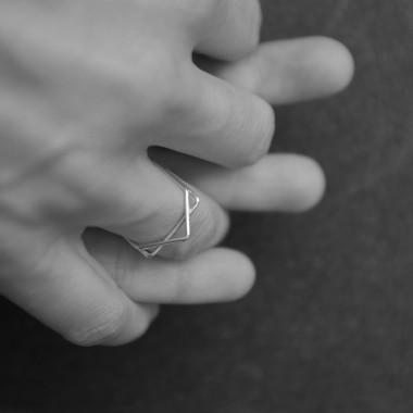 """""""STARSOME"""" Ring Set in SILBER von Weiskönig Jewelry"""