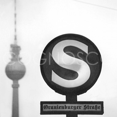 COGNOSCO Topfuntersetzer S-Bahn Berlin