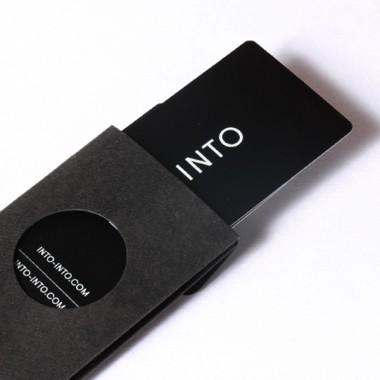 INTO - Geldbeutel S - schwarz