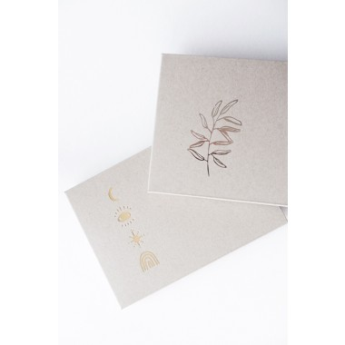 COSMIC SYMBOLS - Letterpress Card Set - Anna Cosma