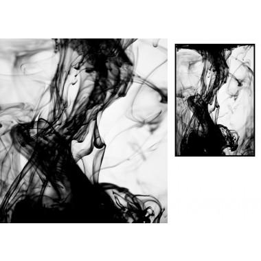 STRONG movement - black Artprint A3 Poster, 50x70, A1 Poster
