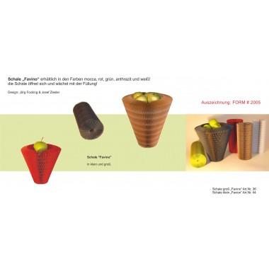 "onlydesign Schale hoch ""Favino"", Vase, Korb, Blumenvase,"