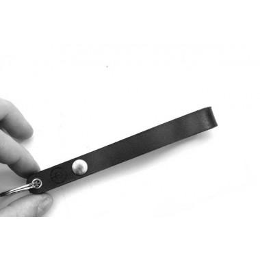 DUKTA one piece Origamifaltung Schlüsselanhänger 2 Leder schwarz