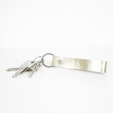 Geschenkset: Etui und Schlüsselanhänger (gold)