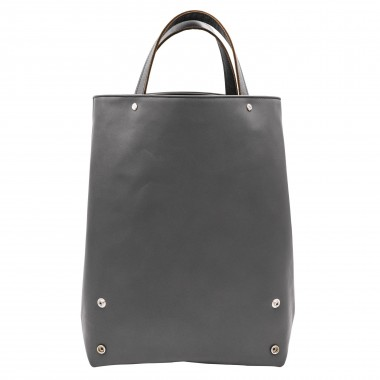 Shopper grau – aus premium pflanzlich gegerbtem Olivenleder®