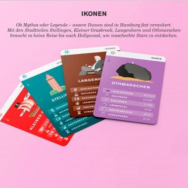 Spiel, Satz, Kiez - Das Hamburg Stadtteil-Quartett 2021 (Neuauflage)
