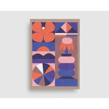 stefanizen – Schmetterling Postkarte DIN A6 mit Umschlag