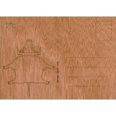 formes Berlin Stier-Karten - 6 Postkarten aus Holz