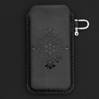 STUDIO MUNIQUE  Leather Phone Sleeve