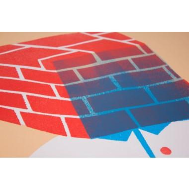 Stencil Artprint »Subjektiv« 50x70cm