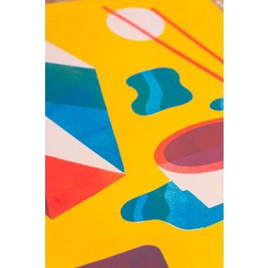 Stencildruck »Sushi Menu« DINA3 (29,7x42cm)